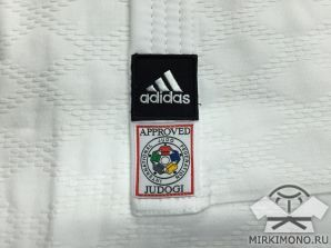 "Кимоно ""Adidas"" Champion II белое IJF-APPROVED (NEW 2015)"