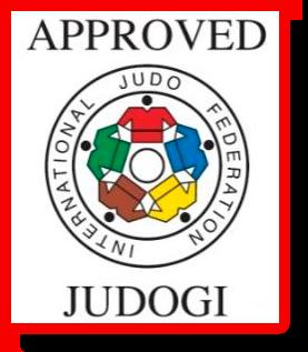 Официальный ярлык (лейбл) IJF для дзюдоги