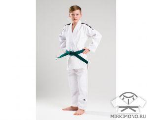 """Кимоно для детей """"Adidas"""" Club J350 белое"""