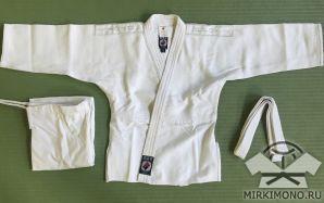 """Кимоно """"Profi-Judo"""" СТАНДАРТ белое"""