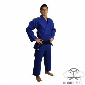 "Кимоно ""Adidas"" Champion II синее IJF-APPROVED (NEW 2015)"