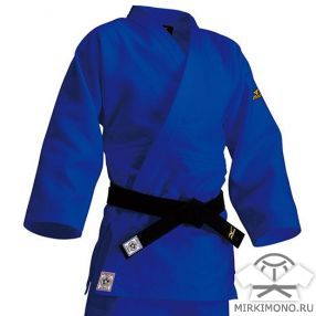 "Кимоно ""Mizuno"" синее IJF-APPROVED"