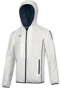 Спортивный костюм Мизуно бело-синий