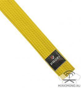 """Пояс жёлтый """"Profi-Judo"""""""