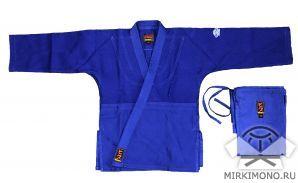 """Кимоно """"Hiku"""" MirKimono II синее"""