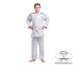 """Кимоно подростковое """"Adidas"""" Training J500 белое"""