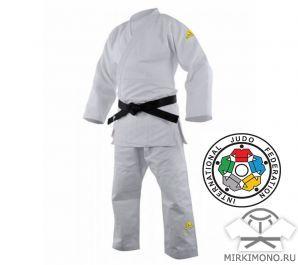 "Кимоно ""Adidas"" Champion 2 IJF Olympic белое"