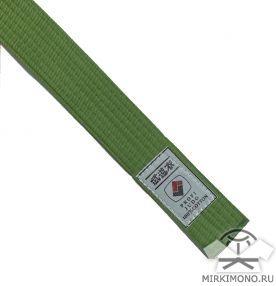 """Пояс зелёный """"Profi-Judo"""""""
