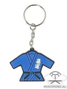 Брелок дзюдо кимоно синее (26)