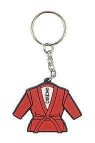 Брелок самбо куртка красная (17)
