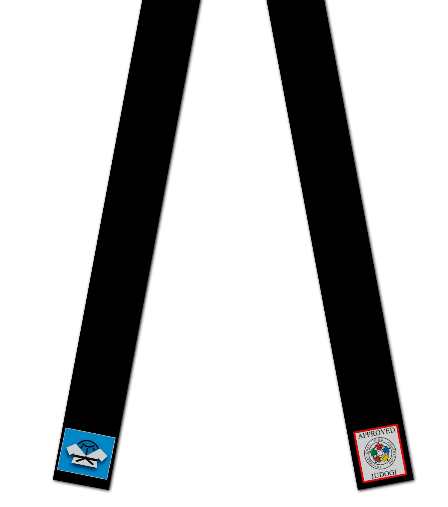 Вышивка на поясах для дзюдо надписей и логотипов